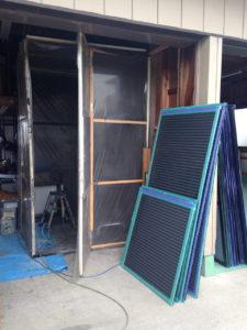 雨戸と工房