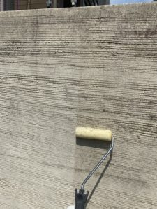 外塀塗装 ジョリパットフレッシュ シーラー