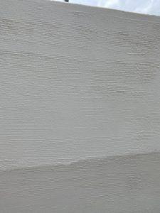 外塀塗装 ジョリパットフレッシュ 上塗り
