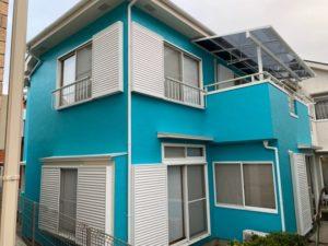 加須市S様邸 外壁塗装 施工完了
